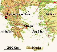 igoumenitsa griechenland karte Igoumenitsa   erste Station beim Griechenland Urlaub