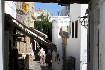 Rhodos Lindos Mittelalterstadt Besichtigung Griechenland