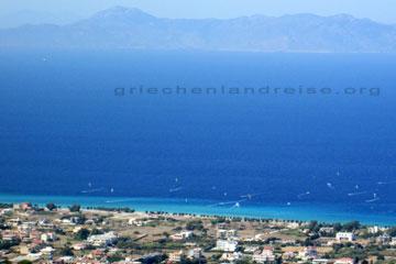 Rhodos Karte Strände.Rhodos Strände Beim Griechenland Urlaub Griechenland Urlaubsreisen